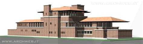 images of house robie house 3d di f l wright