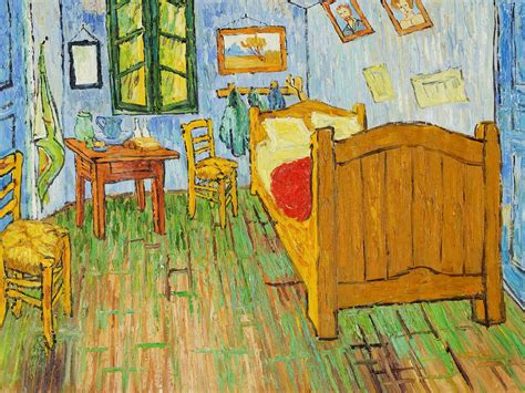 van gogh the bedroom the art institute of chicago s replica of van gogh s