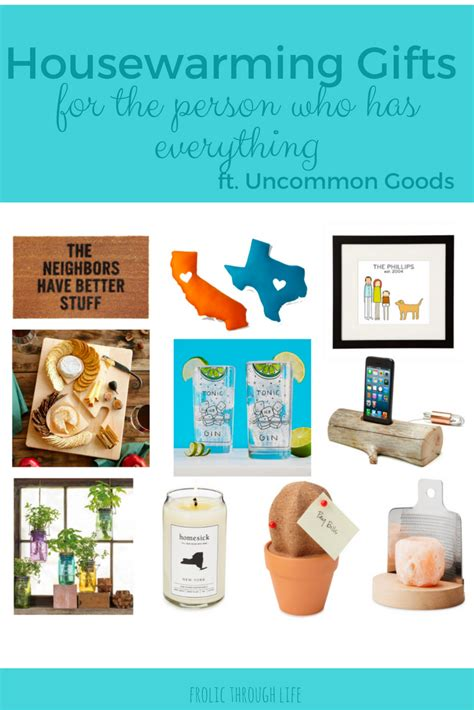 Housewarming Gift For Someone Who Has Everything | housewarming gifts for the person who has everything frolic through life