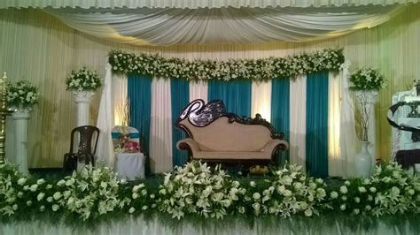 NORIA BRIDAL STAGE DECORATION   PUTHENCAVU, CHENGANNUR