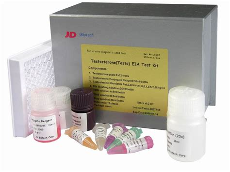china testosterone testo elisa test kit je007 china