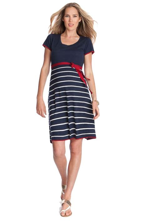 Dress Pesta Maternity Dress sold out seraphine knitted nautical maternity dress sold out