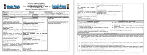 planeaciones sep primaria 2016 gratis pdf planeaciones del segundo grado para el cuarto bloque del