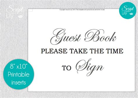 guest sign in book template sle guest book 9 documents in pdf psd