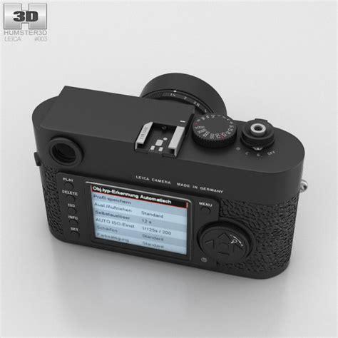 leica models leica m9 black 3d model hum3d