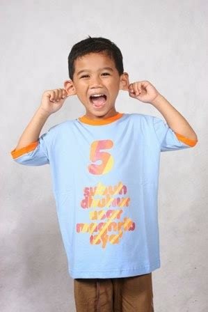 Baju Kaos Anak Laki Laki Lengan 34 M 3 4 Tahun Coklat Authentic bibo collection baju muslim anak telekung gamis anak koko