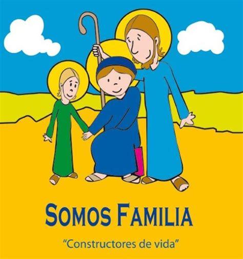 constructores de la familia bajo el lema somos familia constructores de vida se