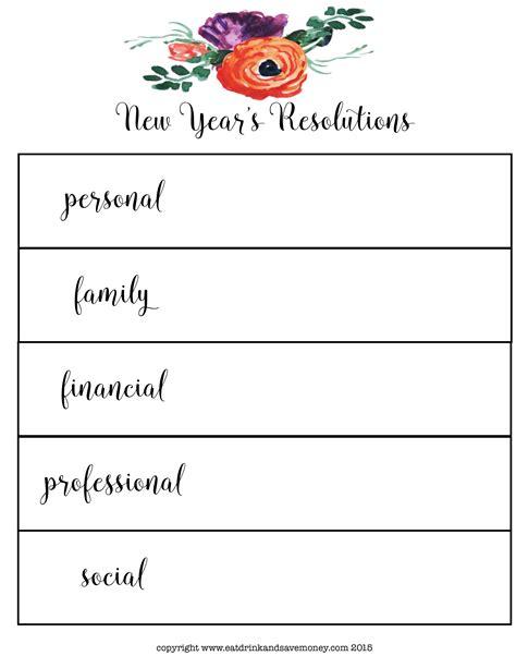 new years resolution worksheet new year s resolution worksheet free free educations
