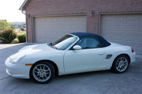 porsche boxster white 2004 boxster white one owner low miles rennlist