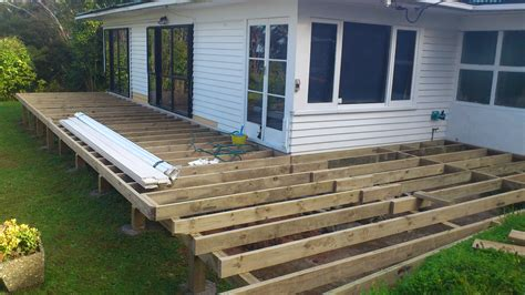 how to build a deck nz large vitex deck build and doors thony builders ltd