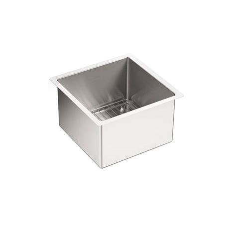 10 Undermount Bar Sink by Kohler Strive Undermount Stainless Steel 15 In Single