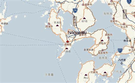 nagasaki map nagasaki location guide
