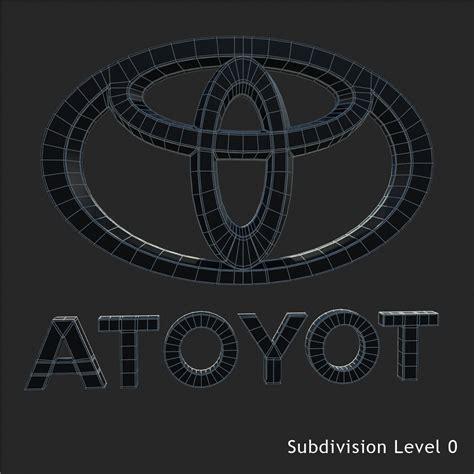 Toyota Logo 3d