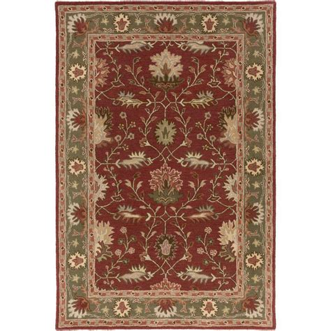 cherry rug artistic weavers middleton cherry 9 ft x 13 ft indoor area rug awmd2101 913 the