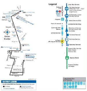 q59 bus grand street / grand avenue