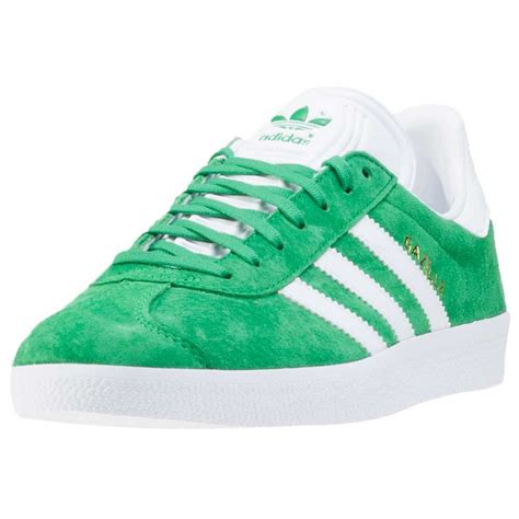 green adidas shoes adidas gazelle mens trainers green new shoes ebay