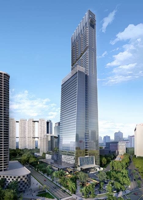 design center towers som to build singapore s tallest tower
