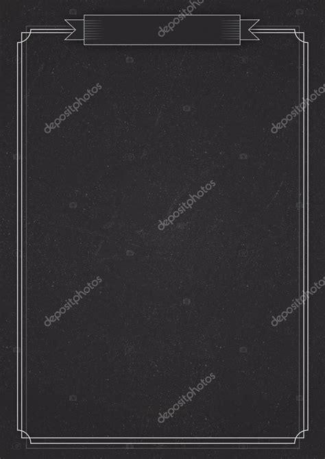 background daftar menu vertical cafe menu classic blackboard background stock
