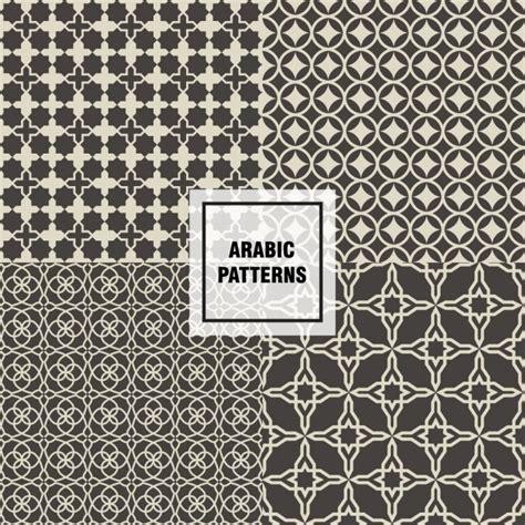 arab pattern vector free download beautiful brown arabic patterns vector free download