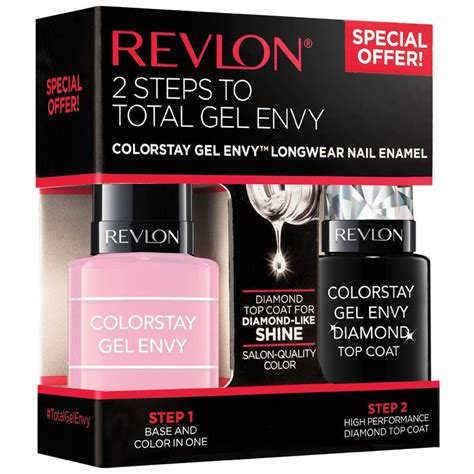 Revlon Colorstay Gel Envy Card buy revlon colorstay gel envy duo packs cardshark top coat at chemist warehouse 174