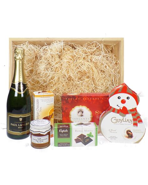 sparkling christmas wooden gift tray price inc next day