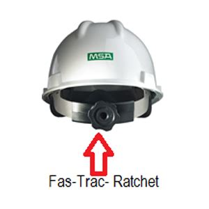 Safety Helmet Viva Fas Trac msa v gard slotted safety helmet fas trac iii suspension psb approved medium size durasafe shop