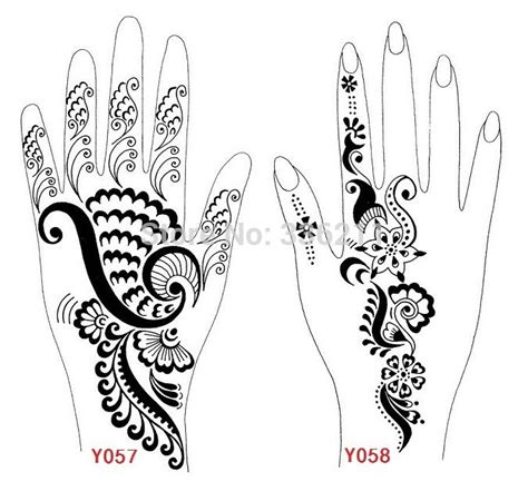 printable mehndi stencils henna hand coloring pages printable coloring pages