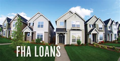 fha home loan and sale
