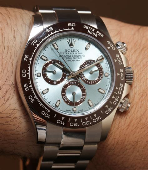 Rolex Watch Giveaway - rolex cosmograph daytona 116506 in platinum hands on an homage to paul newman