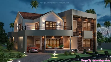new home design in kerala 2015 kerala home design at 3075 sq ft new design home design