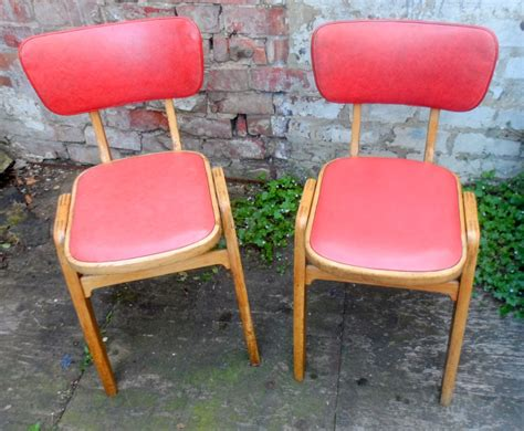 vintage kitchen chairs pair of vintage mid 20th century retro kitchen diner