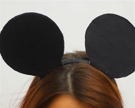 How To Make Mickey Mouse Ears Out Of Paper - how to make mickey mouse ears 12 steps with pictures