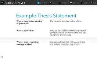 Analytical Essay Thesis Exle by How To Write A Thesis Statement For An Analytical Essay Thesis Statements The Writing