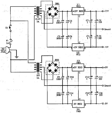 Voltmeter Acdc 30volt power supplies and schematics circuits and diagram