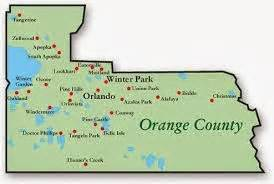 Map Of Orange County Florida by Redirecting