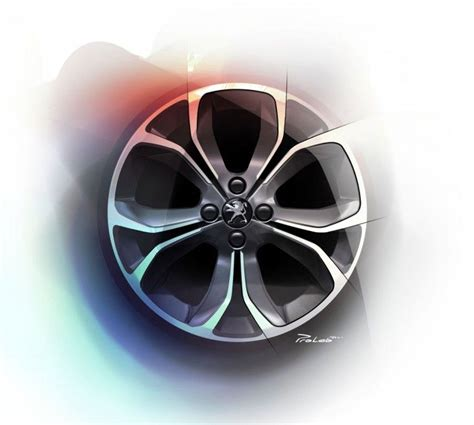 peugeot car wheels peugeot 208 design story car body design rim