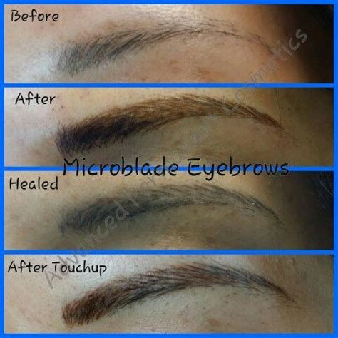 tattoo touch up process microblade eyebrow feathering natural tattooed brows