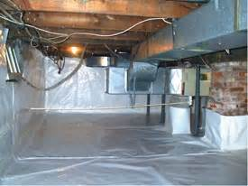 energy efficiency and crawl space encapsulation in