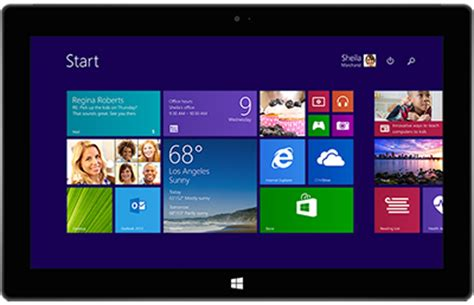 start find and apps on microsoft surface