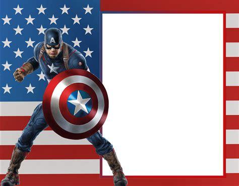 captain america wallpaper border captain america transparent photo frame gallery