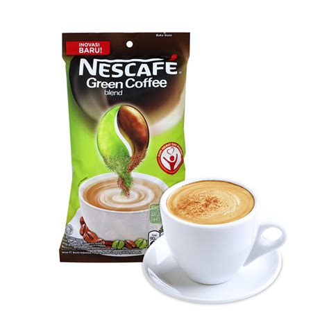 Nescafe Green Coffee green coffee blend nescafe 10x20gr kopi bubuk elevenia