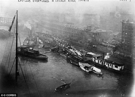 chicago river boat flip first known footage found of 1915 chicago ss eastland