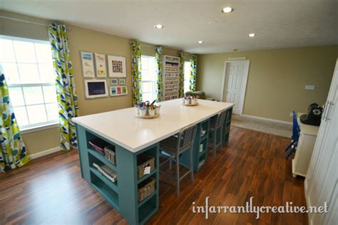 Craft Room Reveal   a look back   Infarrantly Creative