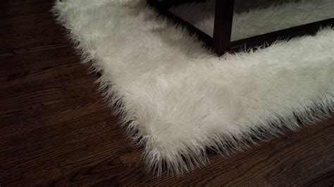 Faux Sheepskin Area Rug Faux Sheepskin Area Rug White Best Decor Things