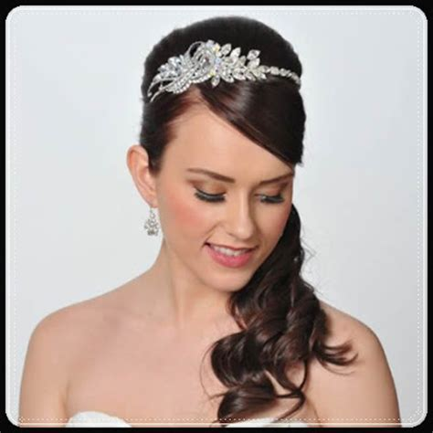 Wedding Hairstyles Princess by Princess Bridal Hairstyles With The Crown Jewels