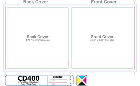 MsBrownPhoto   CD Label Template & 2 Page Insert Template