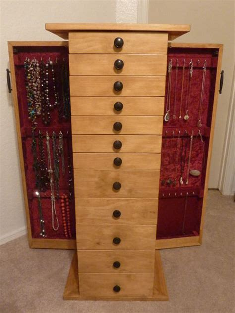 Build Armoire by Build Jewelry Armoire Plans Studio Design Gallery