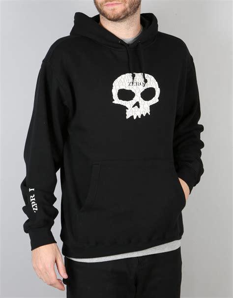 Tshirt Dc Flocked Zero X Store zero og single skull pullover hoodie black skate pullover hoodies mens hoodies clothing