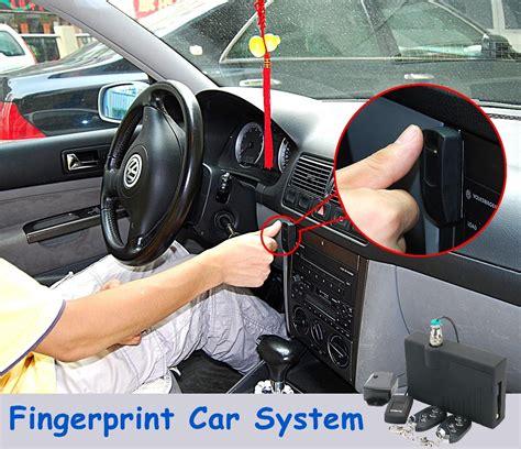 in car security teach range fingerprint car security system