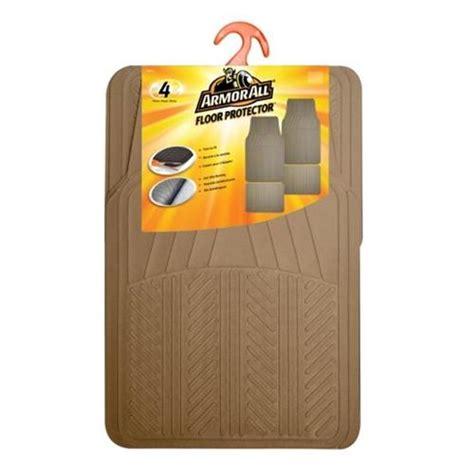 armor all 174 4 piece rubber floor mats at menards 174